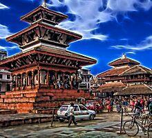 Durbar Square, Kathmandu, Nepal by vadim19
