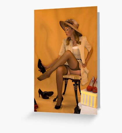 The Shoe Shop Greeting Card