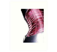 corset curve Art Print