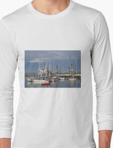 Falmouth Harbour and Docks Long Sleeve T-Shirt