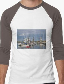 Falmouth Harbour and Docks Men's Baseball ¾ T-Shirt