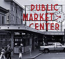 Pike Place Market Number 2, Seattle by Jaymes Williams