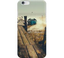 Crooked fisherman iPhone Case/Skin