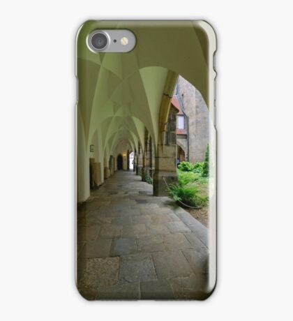 In the Cloister, the Cathedral, Meissen, Saxony, Germany iPhone Case/Skin