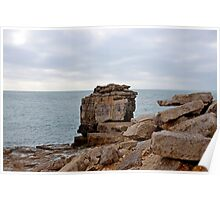 Pulpit Rock, Portland, Dorset, UK Poster