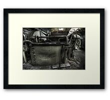 Roll on Framed Print