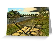 Nets or Time to rest! Greeting Card