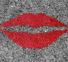Lipstick Sidewalk by Jaymes Williams
