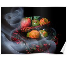 Smoked Fruit Poster