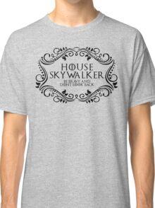 House Skywalker (black text) Classic T-Shirt