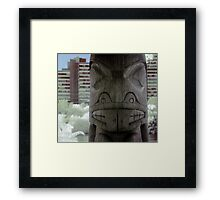 Old meets New - Infrared Study Framed Print