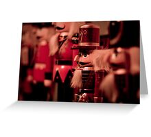 Little Soldiers in a Row Greeting Card