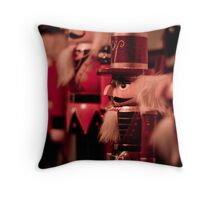 Little Soldiers in a Row Throw Pillow