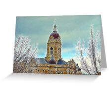 Courthouse Dome Greeting Card