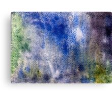 Abstract watercolor hand painted background Canvas Print