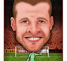 Iain Turner - Sheffield United 2014/15 Season by brendanwilliams