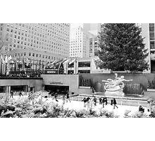 #652  Rockefeller Plaza in infrared Photographic Print