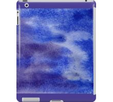 Abstract watercolor hand painted background iPad Case/Skin
