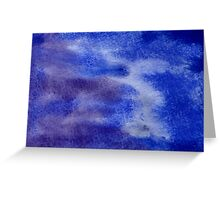 Abstract watercolor hand painted background Greeting Card