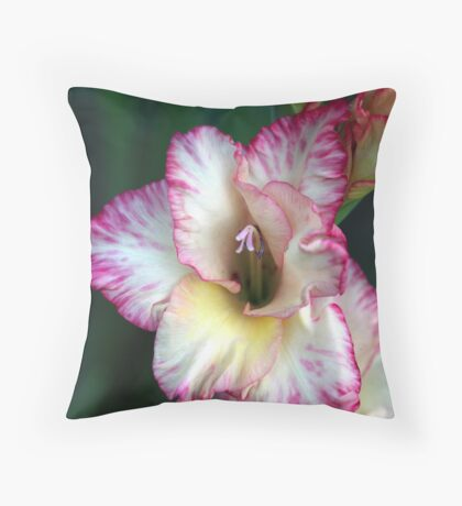 Flower of the Gladiators Throw Pillow