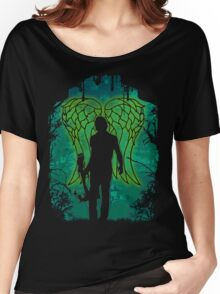 Winged Archer. Women's Relaxed Fit T-Shirt