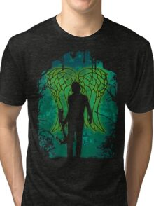 Winged Archer. Tri-blend T-Shirt