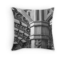 Art Nouveau Entryway Throw Pillow
