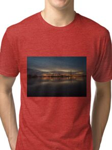 Pula Harbour Twylight  Tri-blend T-Shirt