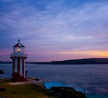 Hornby Lighthouse by Toni McPherson