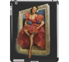 Pin-up Mirror iPad Case/Skin