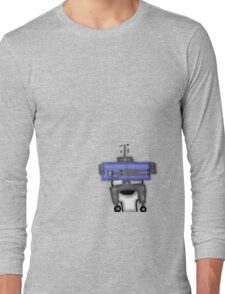 Robot Private Time  Long Sleeve T-Shirt