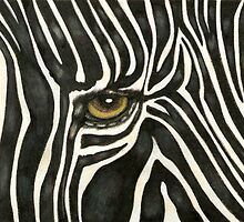 Zebra Eye by Catherine  Howell