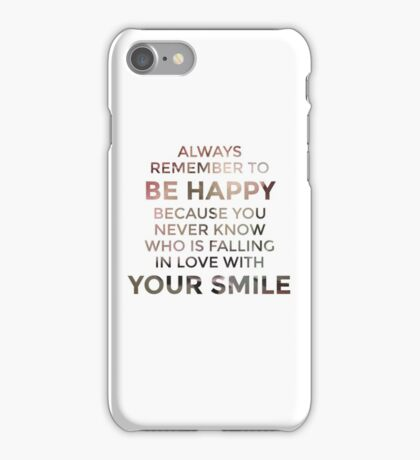 Lovely artwork to spend some happiness iPhone Case/Skin