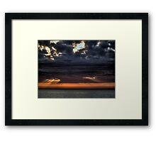 Tra cielo e mare Framed Print