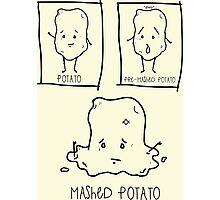 Mashed Potato Photographic Print