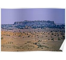 The hold city of Jaisalmer Poster