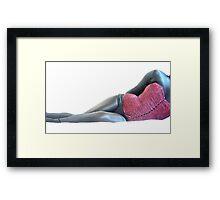 corset form2 Framed Print