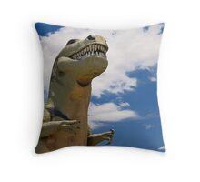 Rawr! Throw Pillow