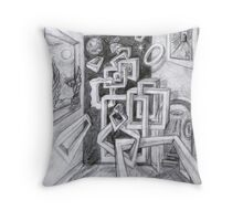 Framing the picture. Throw Pillow