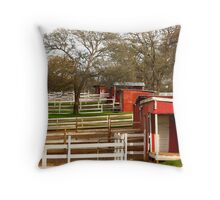 Beale Stables Throw Pillow