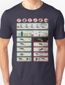 The Rules of Cave Scuba T-Shirt