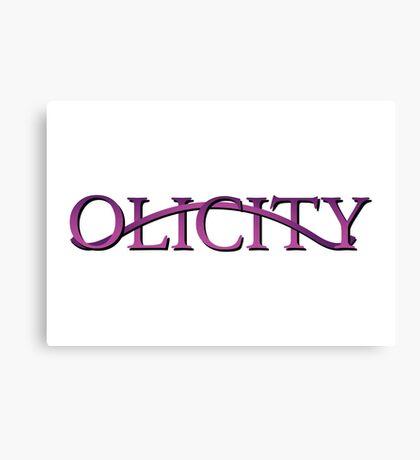 Olicity - Arrow Canvas Print