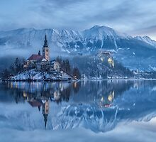 Lake Bled, Slovenia by Curtis Budden