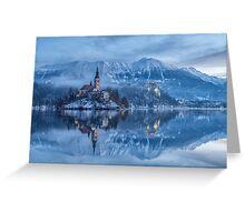 Lake Bled, Slovenia Greeting Card