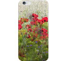 Poppy Grunge  iPhone Case/Skin
