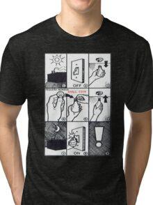 CIA LightBulb Tri-blend T-Shirt