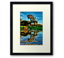 """""""Reflections of The Other Side"""" Framed Print"""
