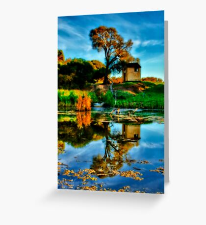 """""""Reflections of The Other Side"""" Greeting Card"""