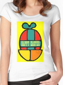 EASTER 43 Women's Fitted Scoop T-Shirt