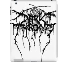 Darkthrone Logo - Black iPad Case/Skin